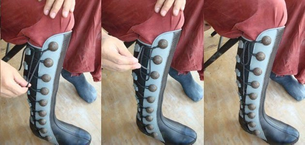 boot lacing