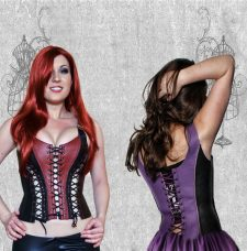 Corset Front and Back