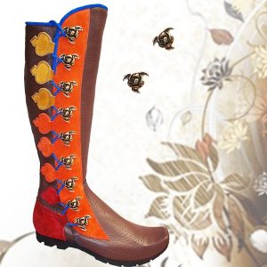 Custom Turkish Toe 9 Button Boot