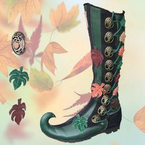 Tree Boot Curl Toe